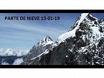 PARTE DE NIEVE 13-01-19