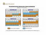 calendario canal de bardenas