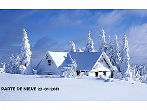 PARTE DE NIEVE 22-01-2017