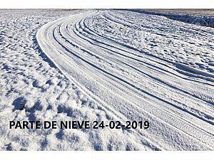 PARTE DE NIEVE 24-02-2019