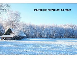 PARTE DE NIEVE 02-04-2017
