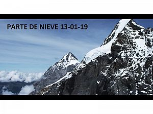 PARTE DE NIEVE 13-01-2019