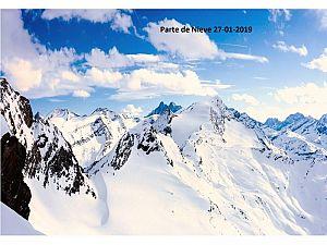 PARTE DE NIEVE 27-01-2019
