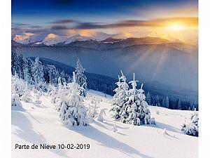 PARTE DE NIEVE 10-02-2019
