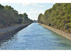 La Confederación Hidrográfica del Ebro licita la reparación mediante hormigonado del revestimiento del Canal de Bardenas (Zaragoza)
