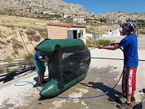 VIDEO : ¿Conoces el protocolo de desinfección de embarcaciones de la cuenca del Ebro?