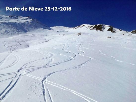 PARTE DE NIEVE 25-12-2016