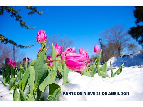 PARTE DE NIEVE 23-04-2017