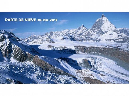 PARTE DE NIEVE 30-04-2017