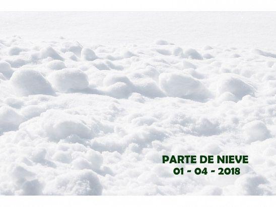 PARTE DE NIEVE 01-04-2018