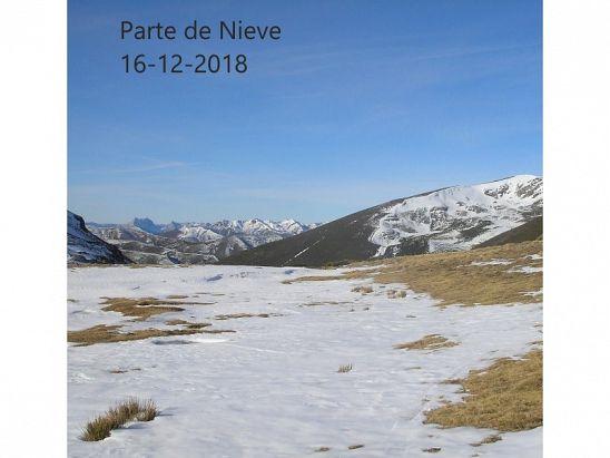 PARTE DE NIEVE 16-12-2018