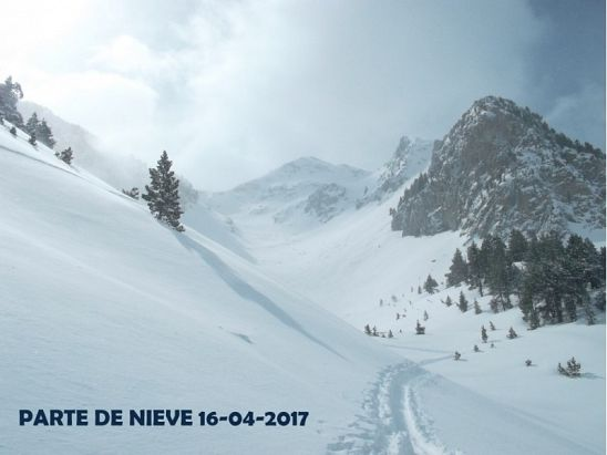 PARTE DE NIEVE 16-04-2017
