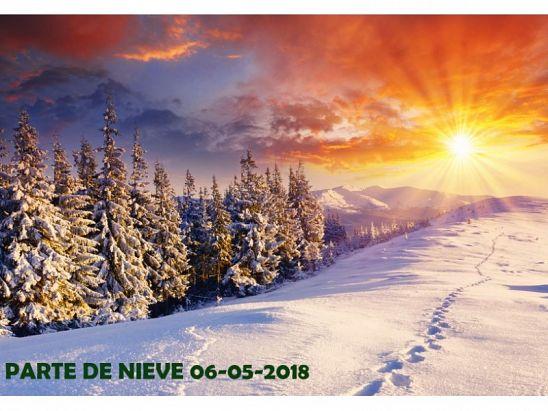 PARTE DE NIEVE 06-05-2018